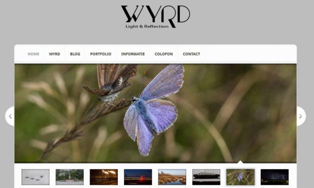 Wyrd Website gaat Online